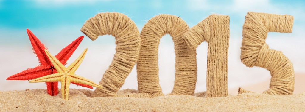 Beach-Woolen-Art-2015-Happy-New-Year-Images