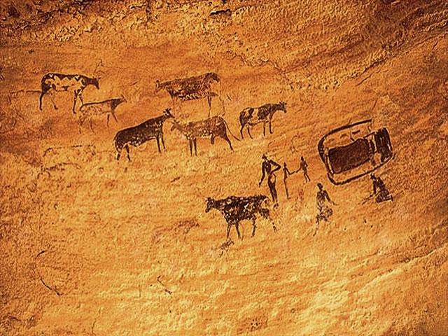Pestera Coliboaia – cele mai vechi picturi rupestre din Europa – 36.000 de ani